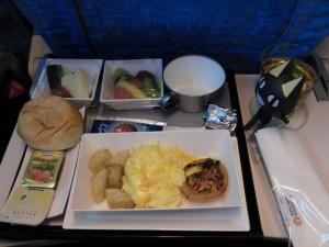機内食2食目