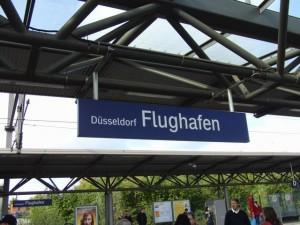 デュッセルドルフ空港駅やでー