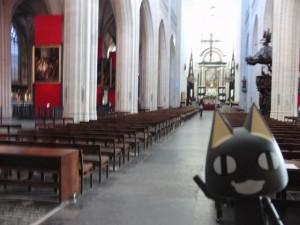 大聖堂の内部その1