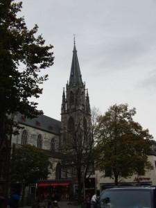 アーヘン大聖堂 遠景